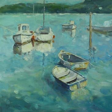 Boats at St Helens