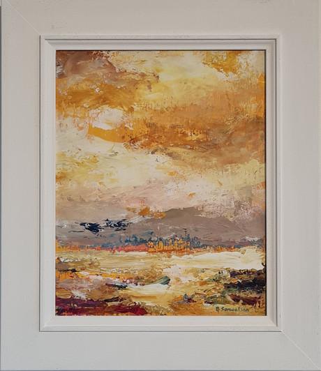 bembridge beach abstract