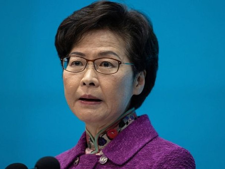 Carrie Lam: Hong Kong's leader says she has to keep piles of cash at home