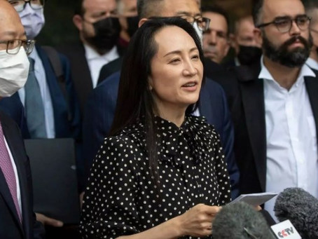 Huawei's executive received a nationwide welcome as a Chinese heroine