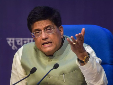 India has FinTech adoption rate of 87%, against global average of 64%, says Piyush Goyal