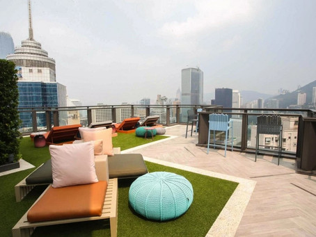 As Hongkongers work from home again, property firms put office features into new residences