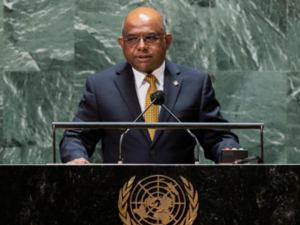 I got Covishield from India, says Abdulla Shahid, President of the 76th UN General Assembly