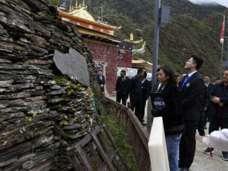 Chinese collection of 500,000 Tibetan Buddhist rock engravings recognised as world's largest