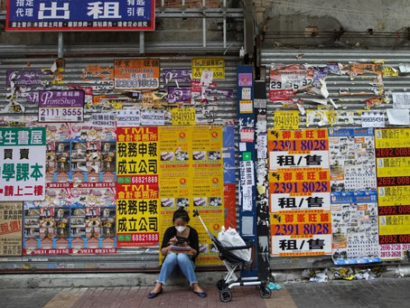 Hong Kong to abolish double stamp duty on commercial property in move designed to boost small firms'