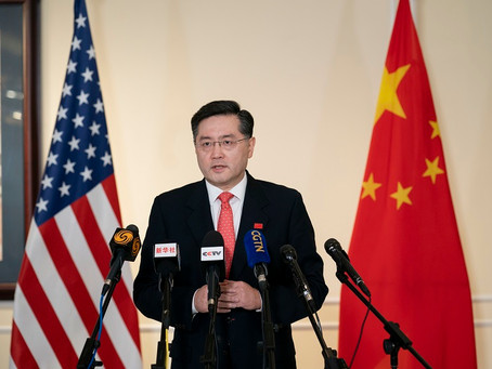 Ambassador Qin Gang Delivered Remarks to Chinese and American Media