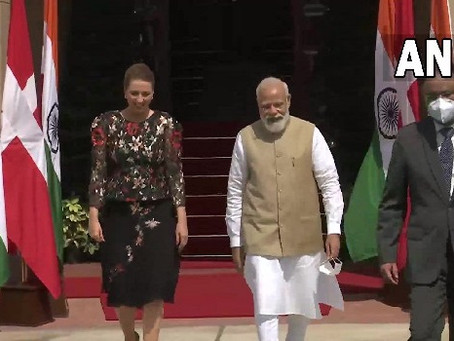 PM Modi an inspiration for rest of the world: Danish Prime Minister