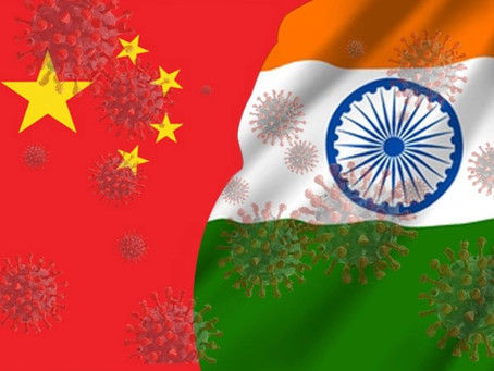 COVID-19 pandemic response: Comparing the Indian and Chinese approaches