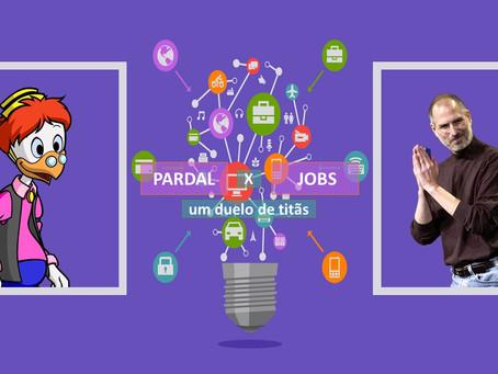Pardal x Jobs: um duelo de titãs