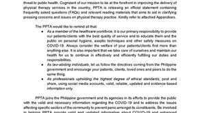 PPTA releases statement on COVID-19