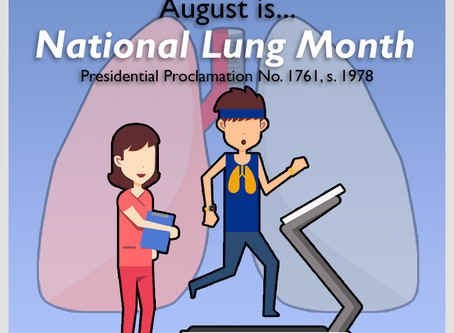 August is National Lung Month
