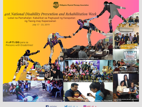41st National Disability Prevention and Rehabilitation Week