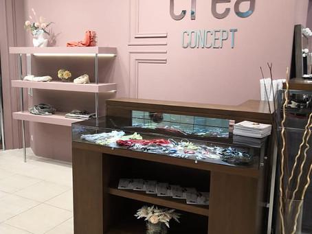 10 апреля 2021 года компания Crea Concept открывает новый бутик!
