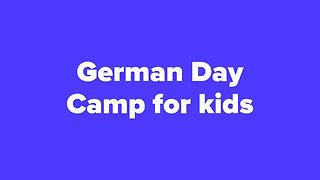 German Language Day Camp