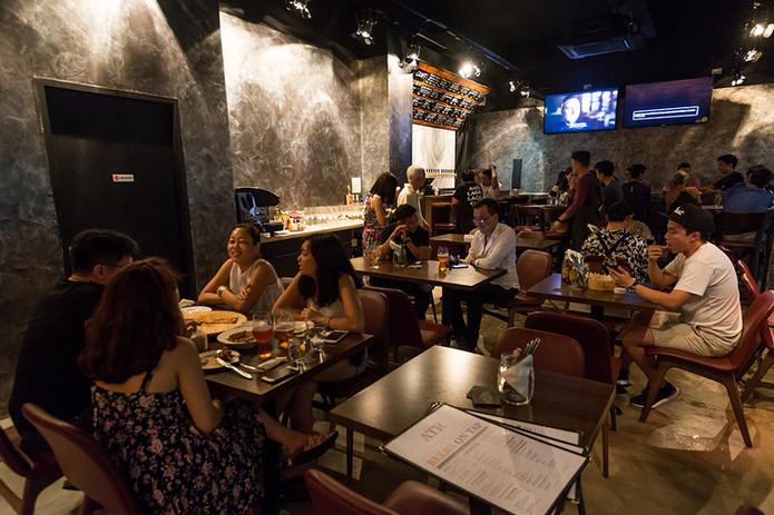 American Taproom Restaurant Interior
