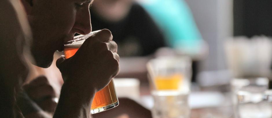 Real Men Taste Beer