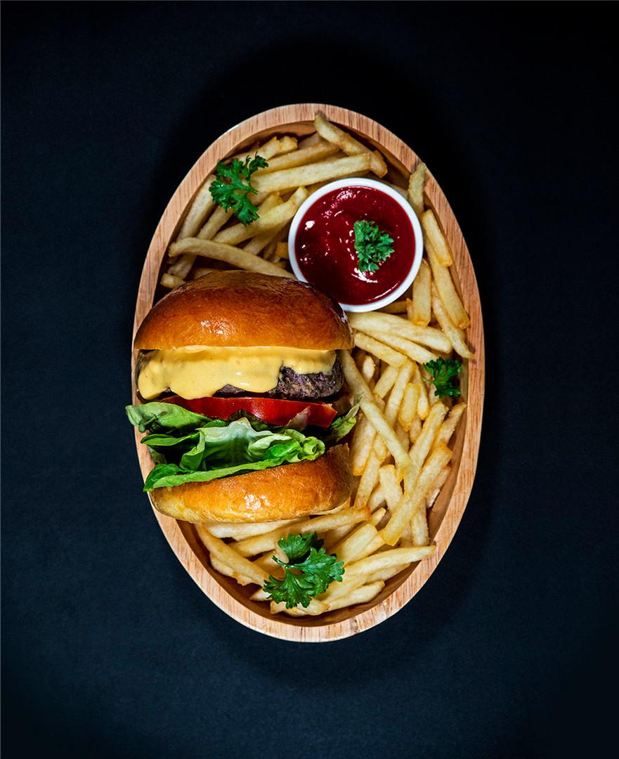 American Taproom Burger