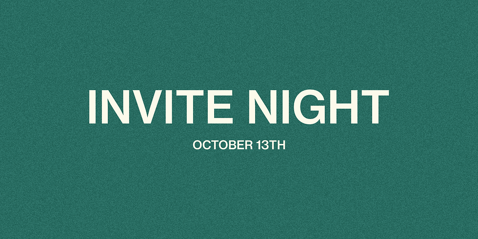 Invite Night + After Party