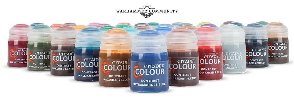 Citadel Colour Contrast Paints Set, Warhammer Community photo