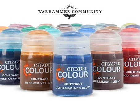 Who Can Benefit From The New Citadel Colour Contrast Paints?