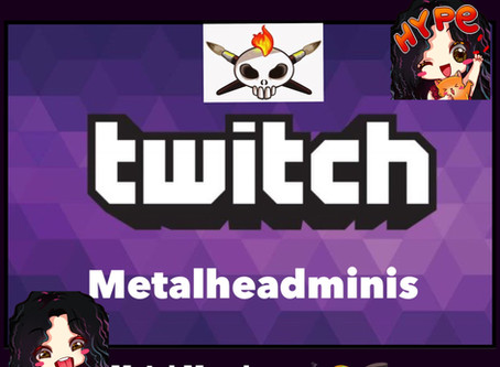 Have You Heard?? We Have A Twitch Streaming Schedule!