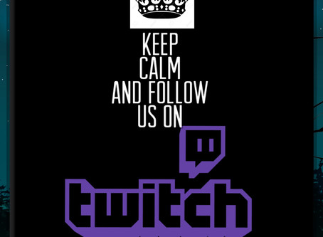 ICYMI- We Now Have A Twitch Channel!