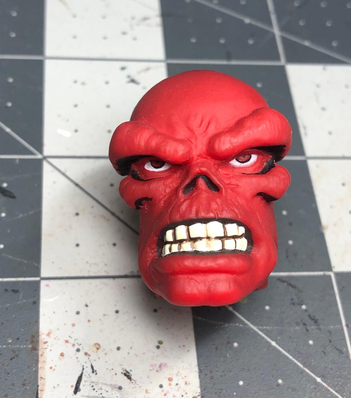 Red Skull Mego head