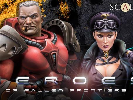 Unboxing: HEROES of Fallen Frontiers Bust Kickstarter!