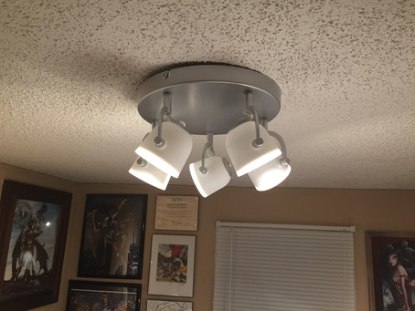 Check Out This Awesome Lighting We Bought At IKEA!