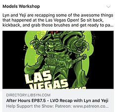 Models Workshop Podcast- Episode 87.5 LVO 2018 recap with Yeji and Lyn
