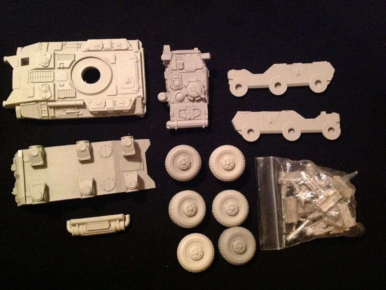 Secret Weapon Miniatures Vehicle