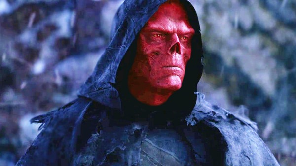 red skull infinity War photo