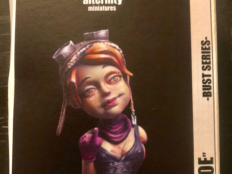 """Unboxing and Review: Alternity Miniatures, """"Zoe"""" 1/10 Scale Bust!"""