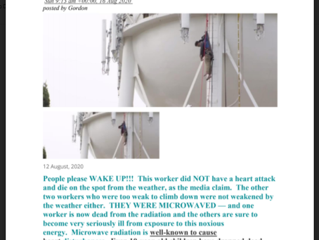27 Year Old Hanging Dead From 5G Microwave Water Tower!! - California - Heart Attack?