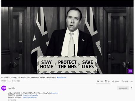 Misleading Data - Advertising Standards Authority - UK Gov Ltd -The Paedo Control Connection.