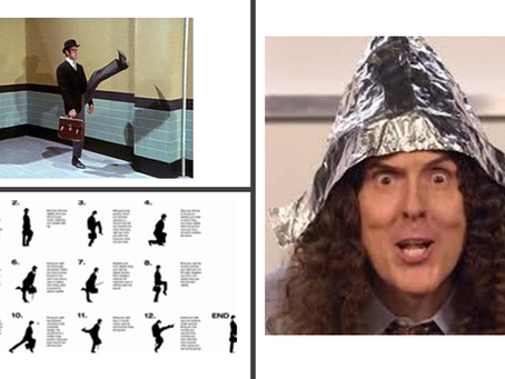 Donning The Foil Hat - Eric Idle - Monty Python