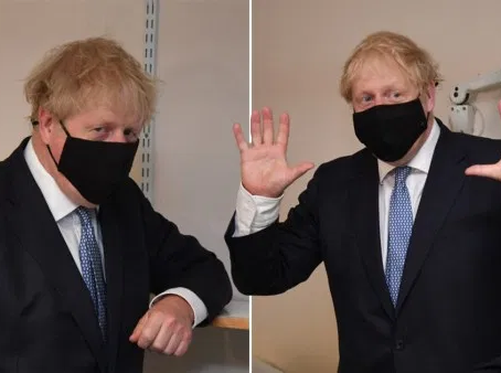 Boris - Masks - Destruction of The Human Spirit. SWQW. 5G Vaccines is The Key Cause - Solution.