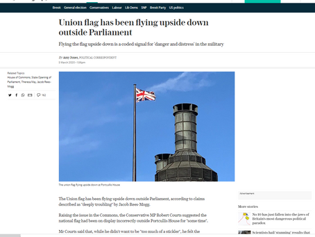 UK In Distress - Flag Orientation