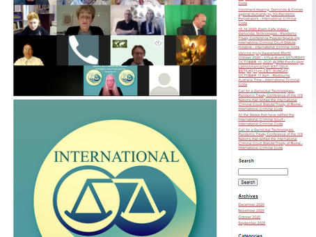 International Criminal Code Indictments - The Outcome