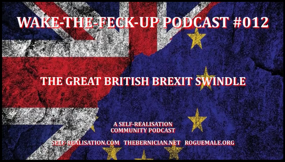 The Bernican - #TGBMS.. Brexit - NOT!.. Podcast..PAG