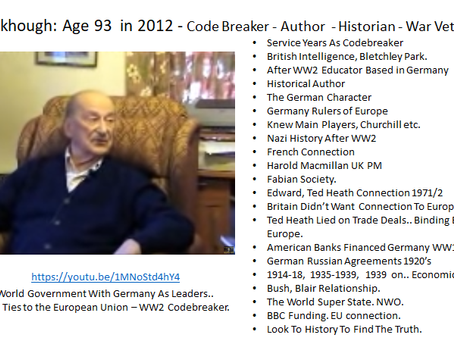 Boris - Theresa May - Brown - Blair To Paedo Ted Heath & HRH Liz 2 - Rothschild Funded - Nazi's!!