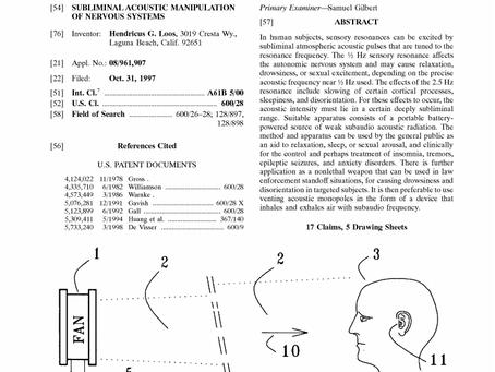 Mind Control - US Patent 601732 A