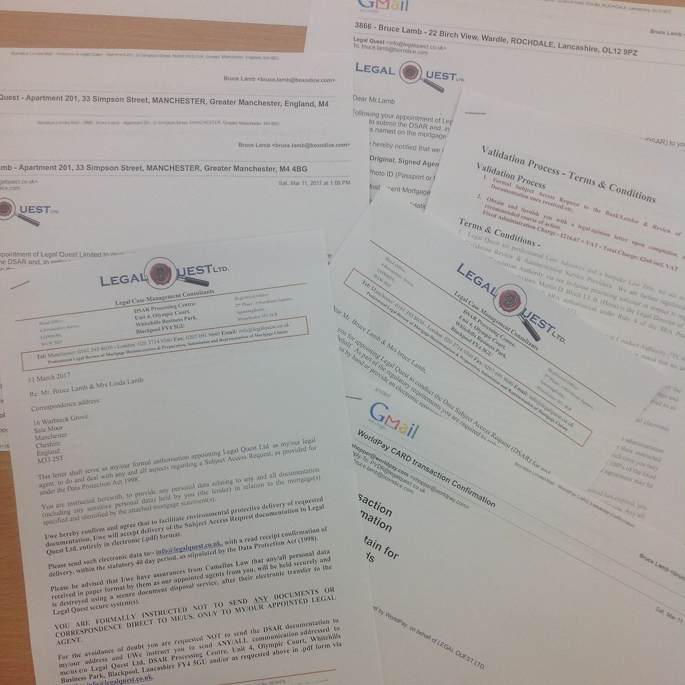 DSAR - Data Subject Access Request