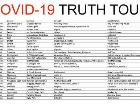 Covid-19. The Truth Tour 2020