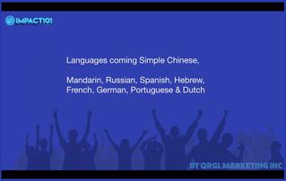 Impact 101 - Languages To Follow - testimonials