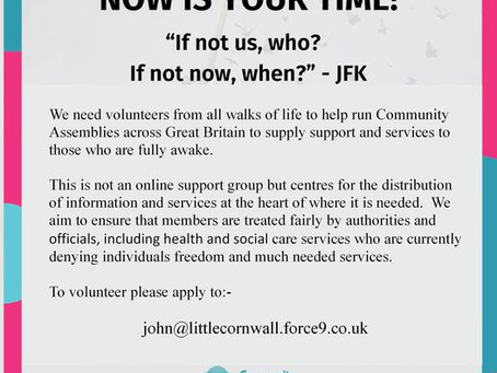 Now Is Your Time - Community Assemblies