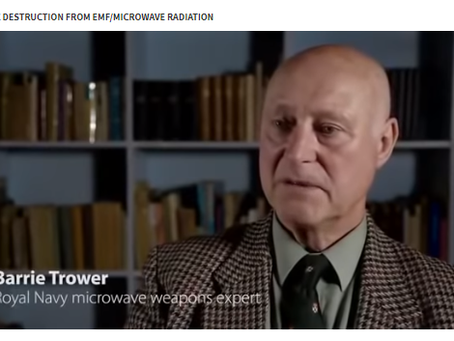 Barrie Trower Discusses Micro Wave Radiation.