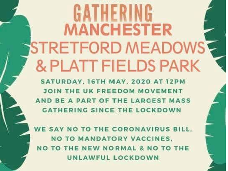 Mass Gathering - Manchester