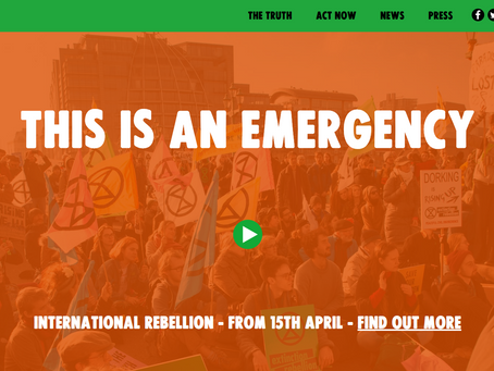 Extinction Rebellion - The Facts - The 5G SMART Connection