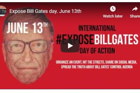 #EXPOSEBILLGATES - International Day of Action